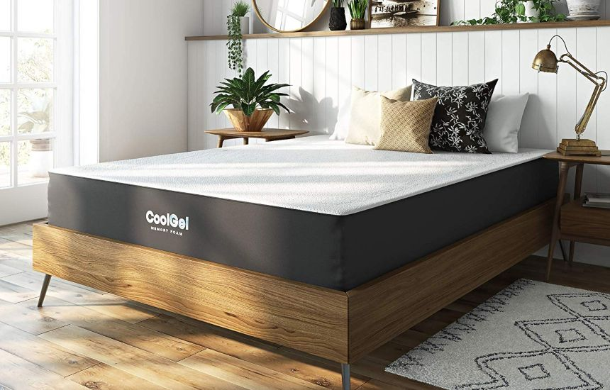 Classic Brands Cool Gel Ventilated Gel Memory Foam