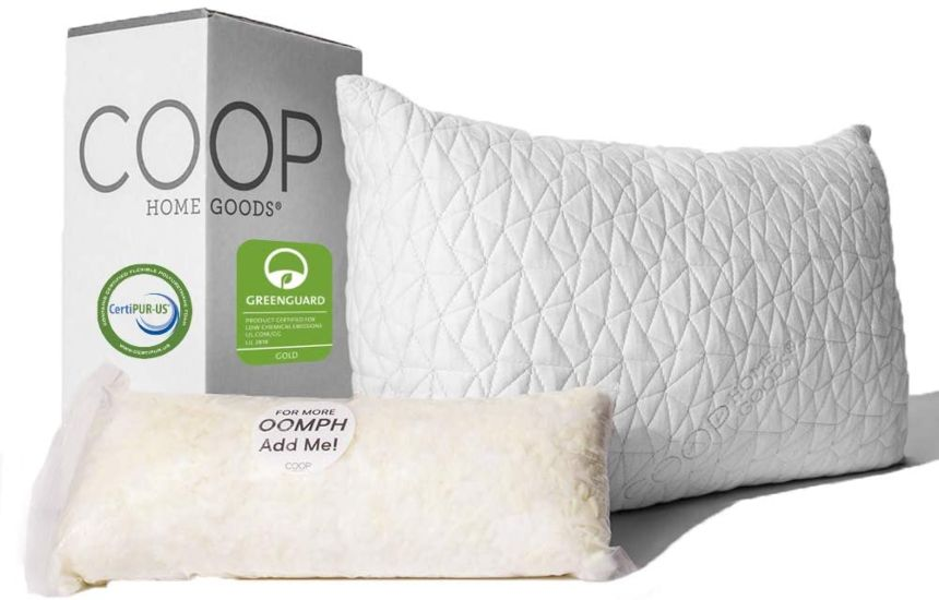 Coop Home Goods - Premium Adjustable Loft Pillow